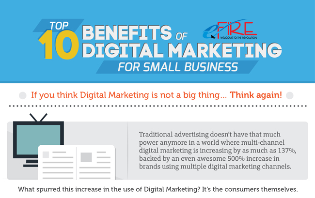 10 Benefits of Digital Marketing vs. Traditional Marketing