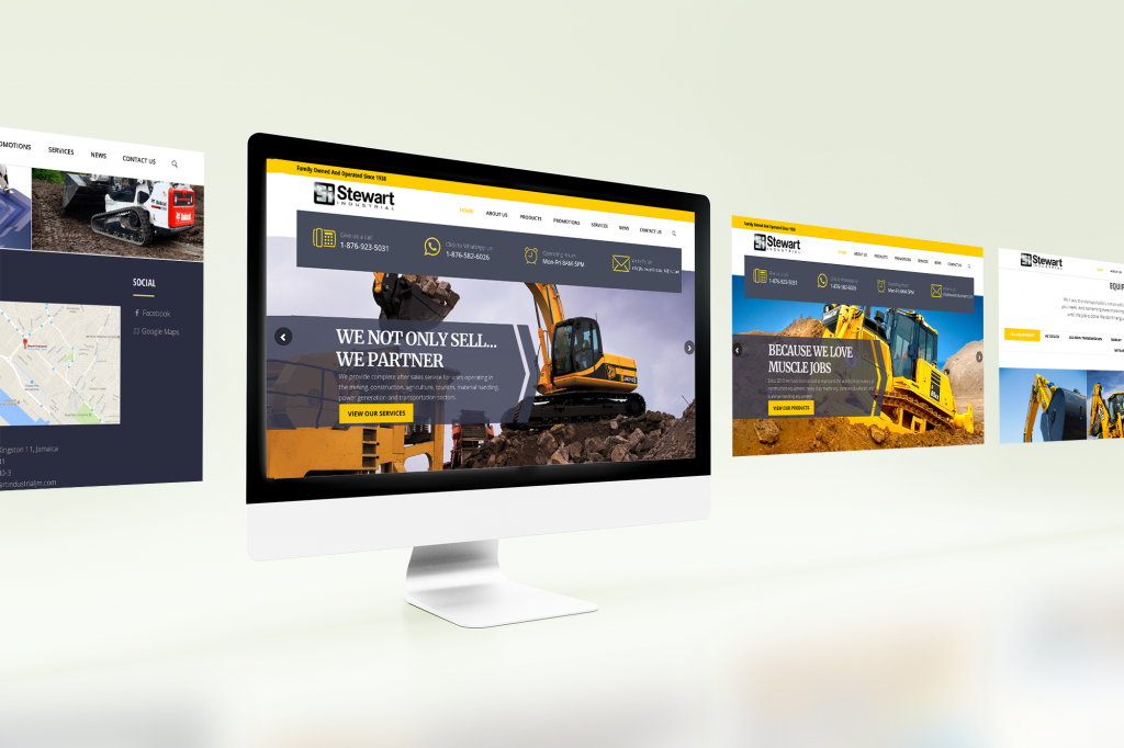 Website Design – Stewart Industrial