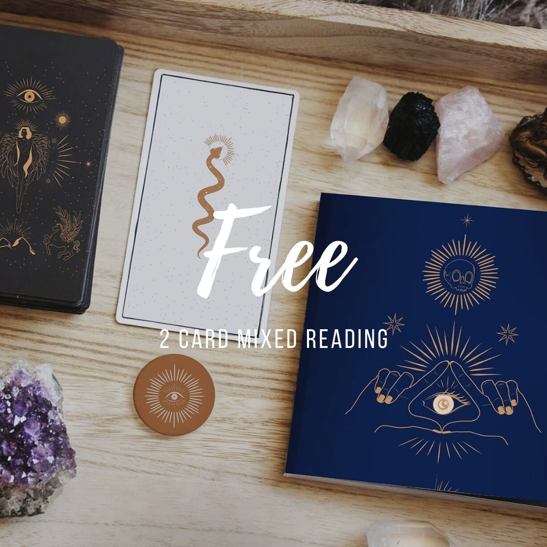 Free 2 Card Mixed Reading